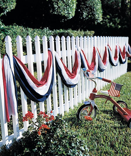 30 Patriotic Home Decoration Ideas In White Blue And Red: The Polohouse: TOMORROW: Patriotic Edition Of Favorites On