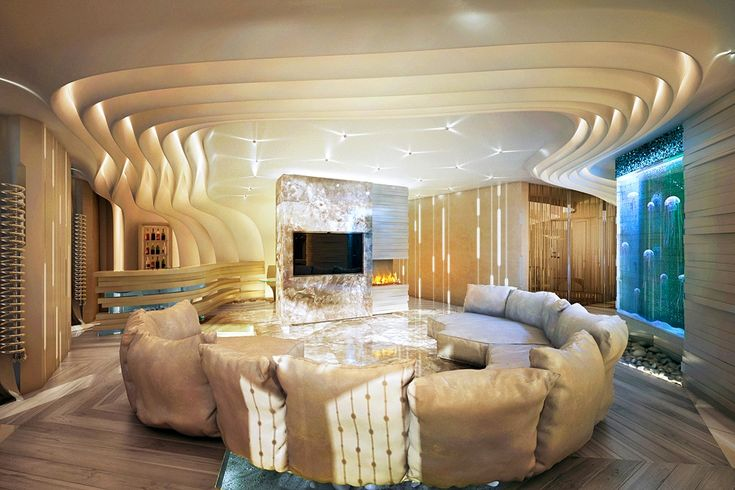 LuxuryHome Design Contoured ceiling
