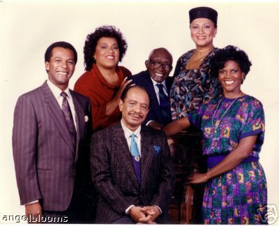 Amen - (1986-1991). Starring: Sherman Hemsley, Clifton Davis, Anna Maria Horsford, Roz Ryan, Jester Hairston, Barbara Montgomery, Rosetta LeNoire, Bumper Robinson, Elsa Raven, Tony T. Johnson and Montrose Hagins. Partial Guest List: Whitman Mayo, LaWanda Page, Casey Kasem, Chubby Checker, Thora Birch, Kareem Abdul-Jabbar, Berlinda Tolbert, Darius McCrary, James Brown, Halle Berry, Telma Hopkins, Jaimee Foxworth, Cuba Gooding Jr. and James Avery.