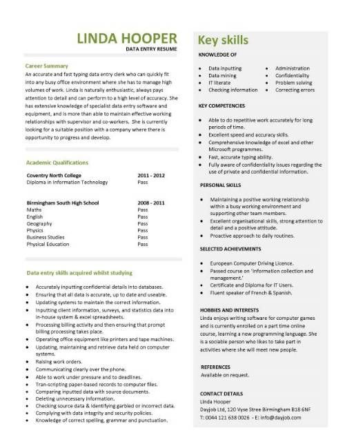 entry level job resume qualifications 927 httptopresumeinfo