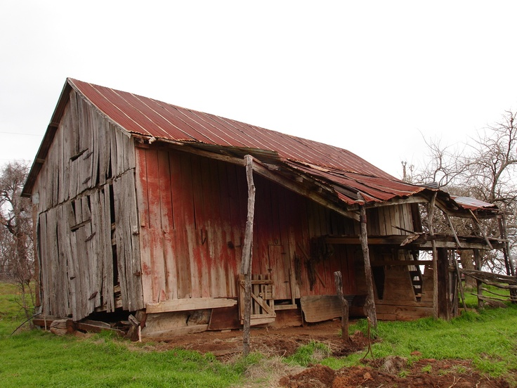 An old shed down on Uncle Johns farm