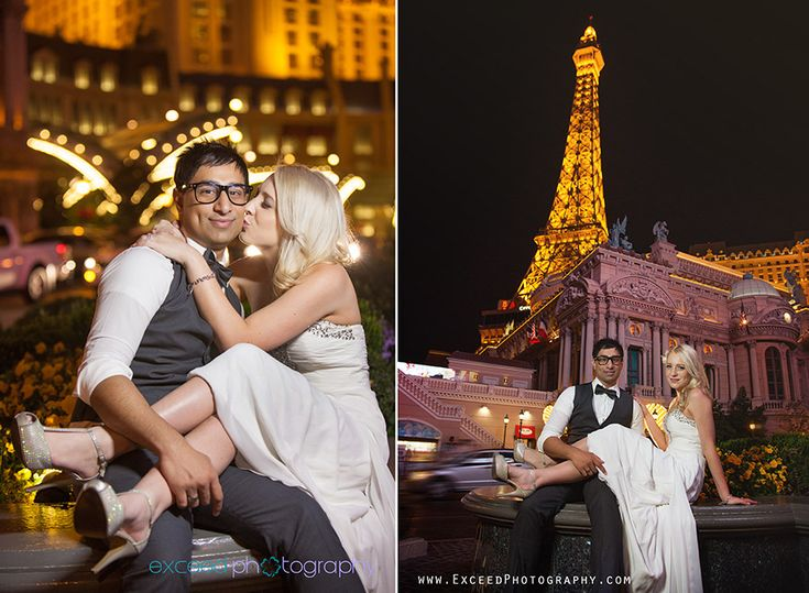 Las Vegas Strip Photo Tour Wedding Photographer Exceed Photography Elopement Ideaslas