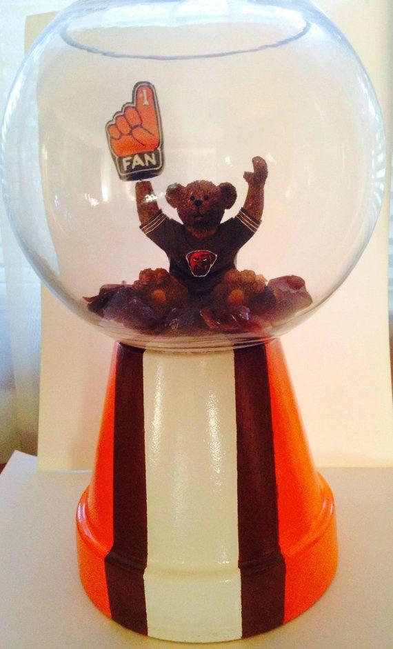Cleveland Browns Custom Made Beta Fish Tank by GettinCrafty715, $30.00 make it BGSU or Cowboys ...