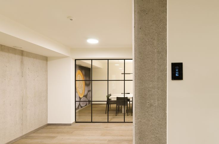 In this completely new bank branch was resolutely chosen for stunning and sophisticated design and modern operating comfort through #TELETASK #domotics. A realization of interior architect Geert Van Rysseghem http://www.archion.be/ and electrician Stijn Goossens http://www.sgsystems.be/ .
