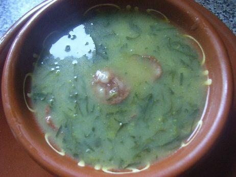 Receita de Caldo Verde .:. Kitchenet .:. Livro de culinária do aeiou