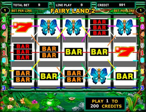 Играть на деньги в автомат Fairy Land от казино Вулкан.  Многие посетители казино Вулкан предпочитают играть в автомат Fairy Land. Этот игровой слот на реальные деньги является одним из самых известных аппаратов. Здесь вас ждут щедрые коэффициенты и прибыльные дополните