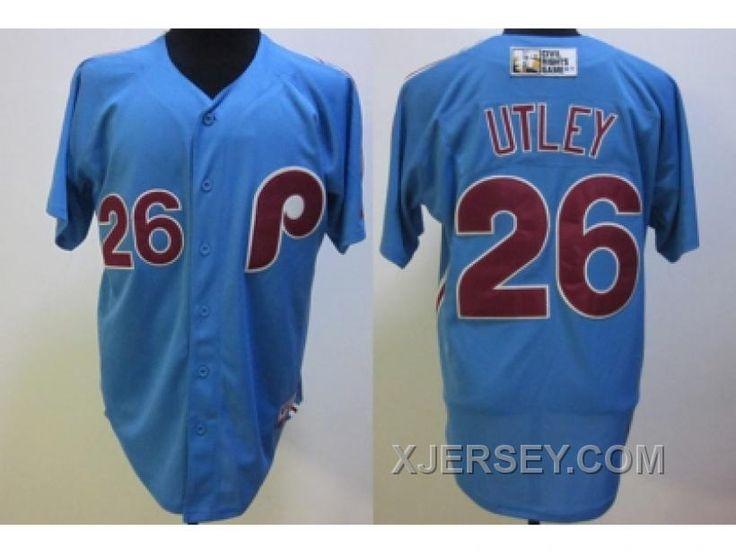 http://www.xjersey.com/mlb-philadelphia-phillies-26-utley-mn-blue-cheap.html MLB PHILADELPHIA PHILLIES #26 UTLEY M&N BLUE CHEAP Only $34.00 , Free Shipping!