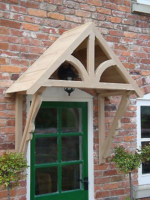 Oak Timber Front Door Canopy Porch Hand made  BLAKEMERE