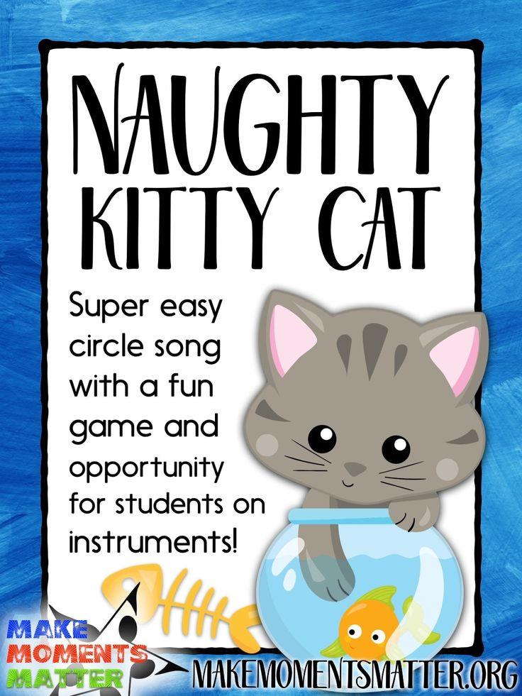Naughty Kitty Cat Singing Game