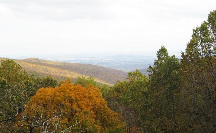 Hog Rock Overlook in Fall