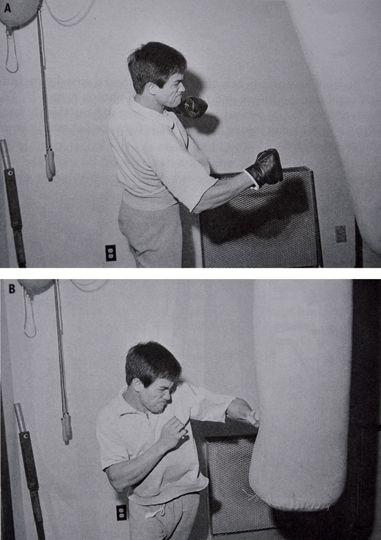 Bruce Lee training