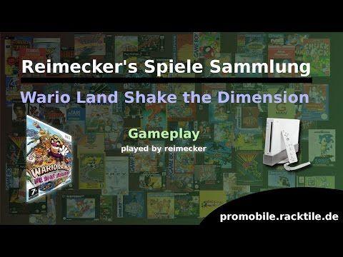 Reimecker's Spiele Sammlung : Wario Land The Shake Dimension