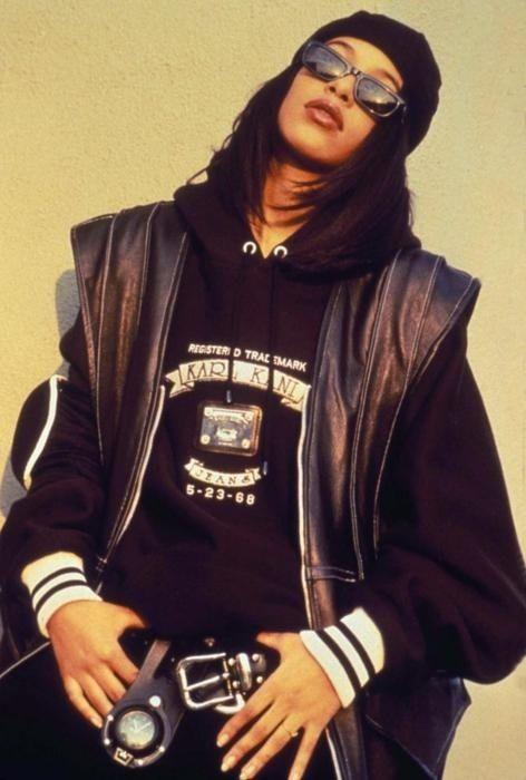 Aaliyah 90s butch realness