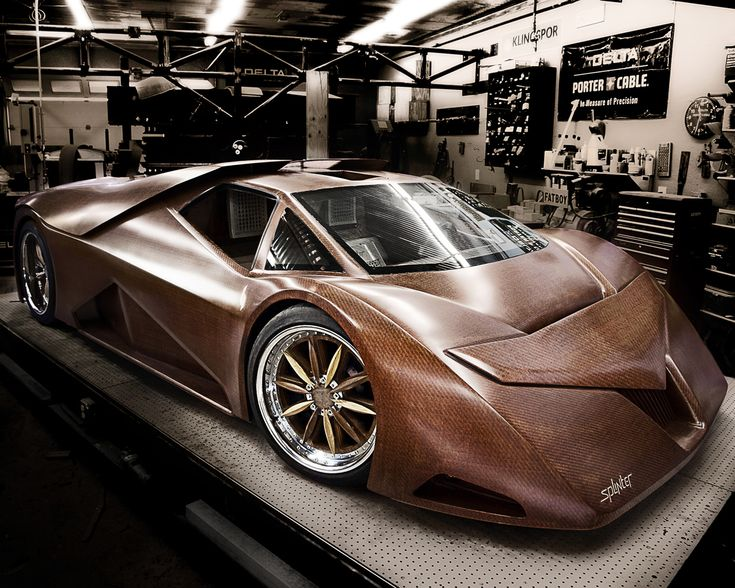 Joe Harmon Splinter.  This car is made almost entirely out of wood!