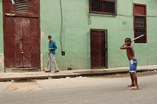 Peter Turnley - Cuba February 2013 Student Gallery