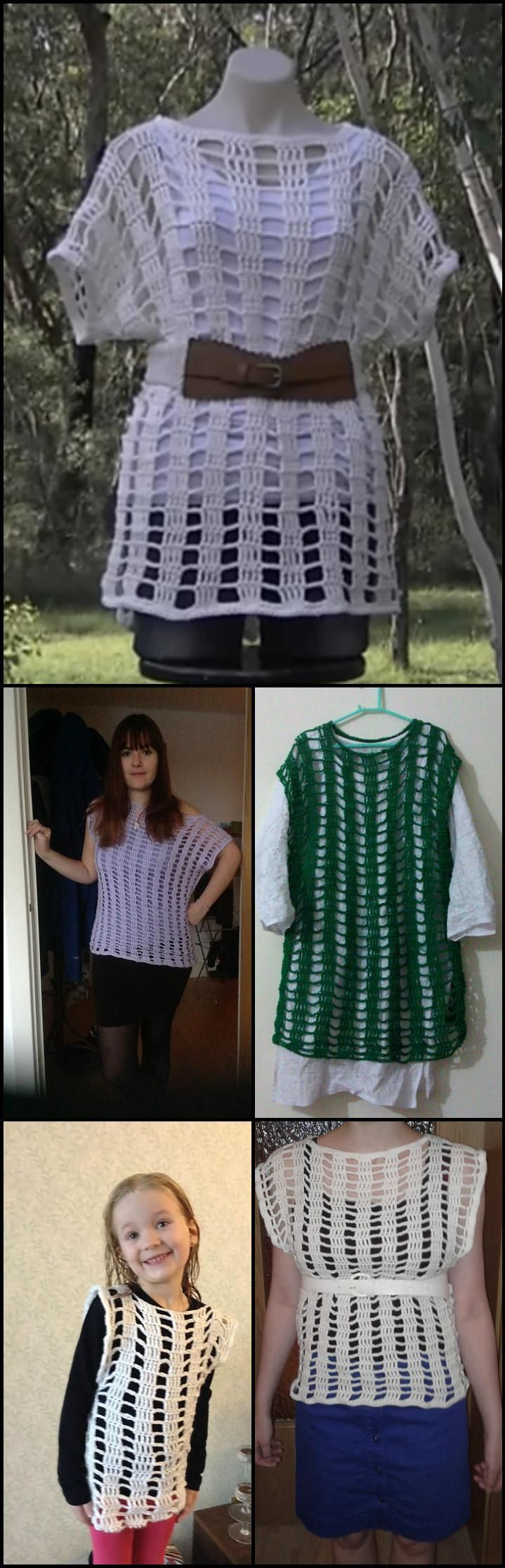 50+ Quick & Easy Crochet Summer Tops - Free Patterns - Page 9 of 9 - DIY & Crafts