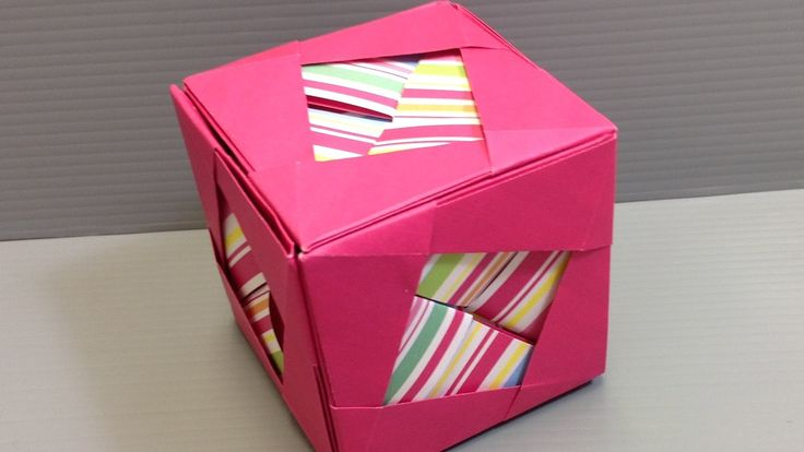how to make a paper cube easy