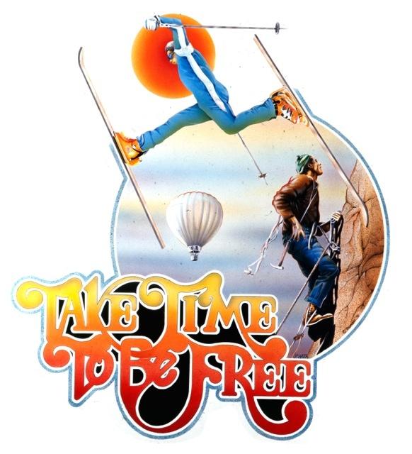 Take Time To Be Free   ©1976 RoAcH   T-shirt Design