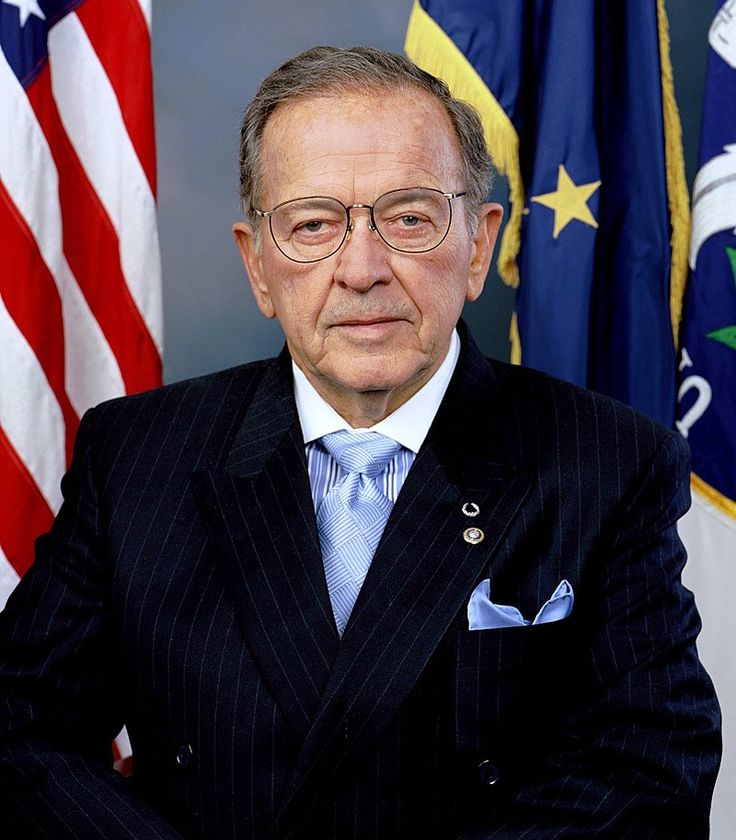 "The late Sen. Ted Stevens (R-Alaska), famous for wearing a sharp double-breasted suit and for describing the Internet as ""a series of tubes."""