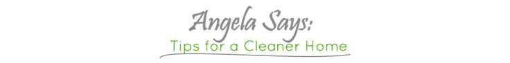 The Simple Trick to Keep Your Baseboards Clean | Angela Says