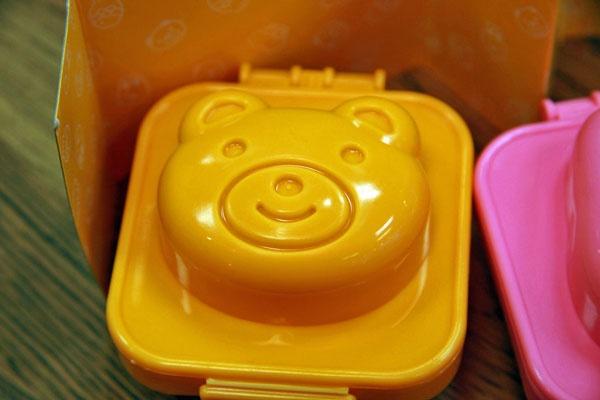bear egg mold