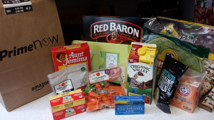 Can Amazon Prime Now save you time AND money by bringing groceries right to your door?