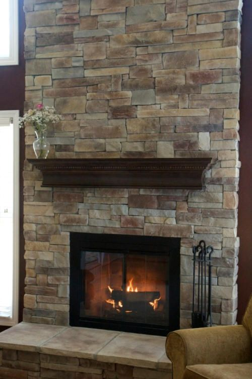 Stone For Fireplace Veneer Brick Makeover Designs