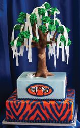 A Groom's Cake choice for the War Eagle Wedding! Help plan their wedding by voting at www.wareaglewedding.com