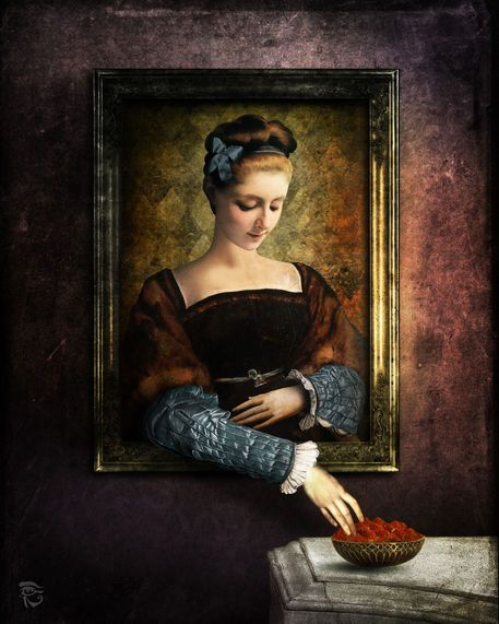 'Florentina' by Christian  Schloe on artflakes.com as poster or art print $20.79
