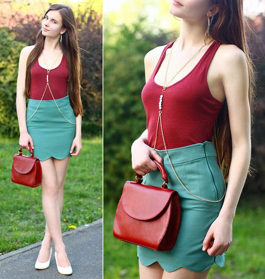 Strawberry outfit (by Ariadna Majewska) http://lookbook.nu/look/3434771-Strawberry-outfit