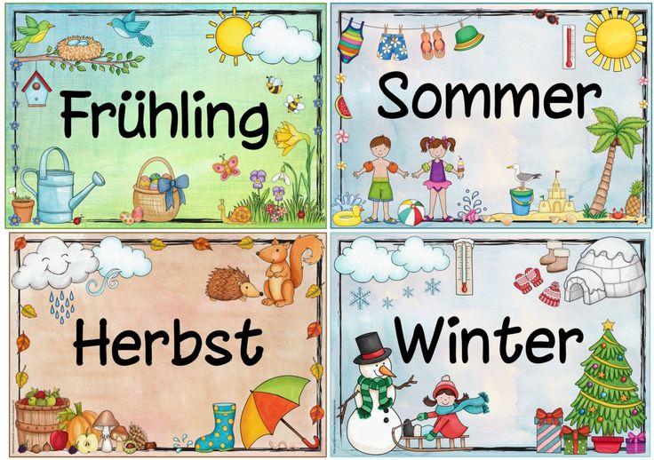 Ideenreise: Jahreszeitenplakate                                                                                                                                                                                 Mehr