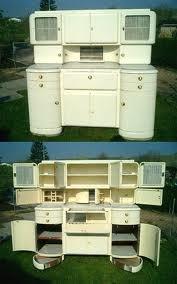 The coolest Hoosier EVER!: Art Deco Kitchen, Hoosier Cabinet, 50S Kitchen, Vintage Cabinet, Vintage Furniture, Vintage Kitchen, Kitchen Cabinets