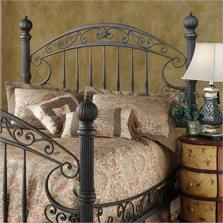 Grand Furniture Charlottesville Va: Hillsdale Chesapeake Spindle Headboard In Brown