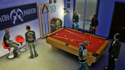 My Sims 4 Blog Clubhouse Pool Table Amp Cue Rack By Mr