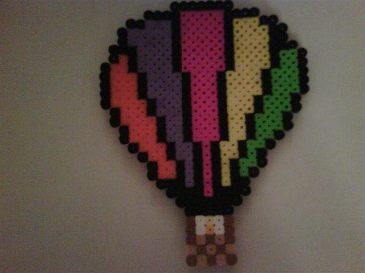Hot air balloon perler beads by Malaque Safar - Perler® | Gallery