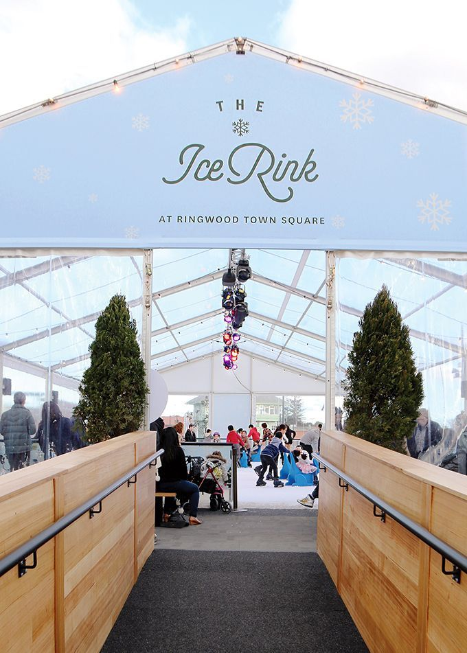 The Ice Rink at Ringwood Town Square