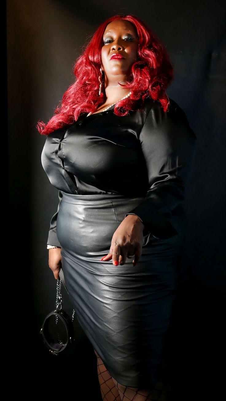 bbw Madame caramel ebony
