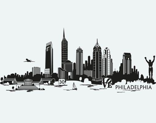 Philadelphia Skyline Tattoo