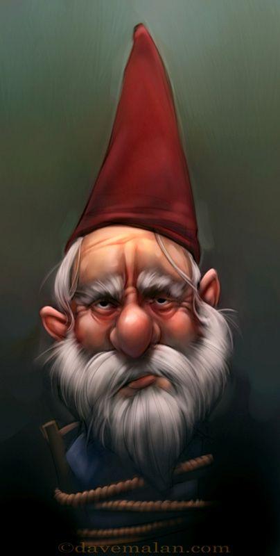 образ картинки гномиков с бородой ничего