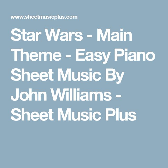 how to play star wars song on piano