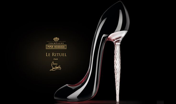 Louboutin for Piper Heidsieck