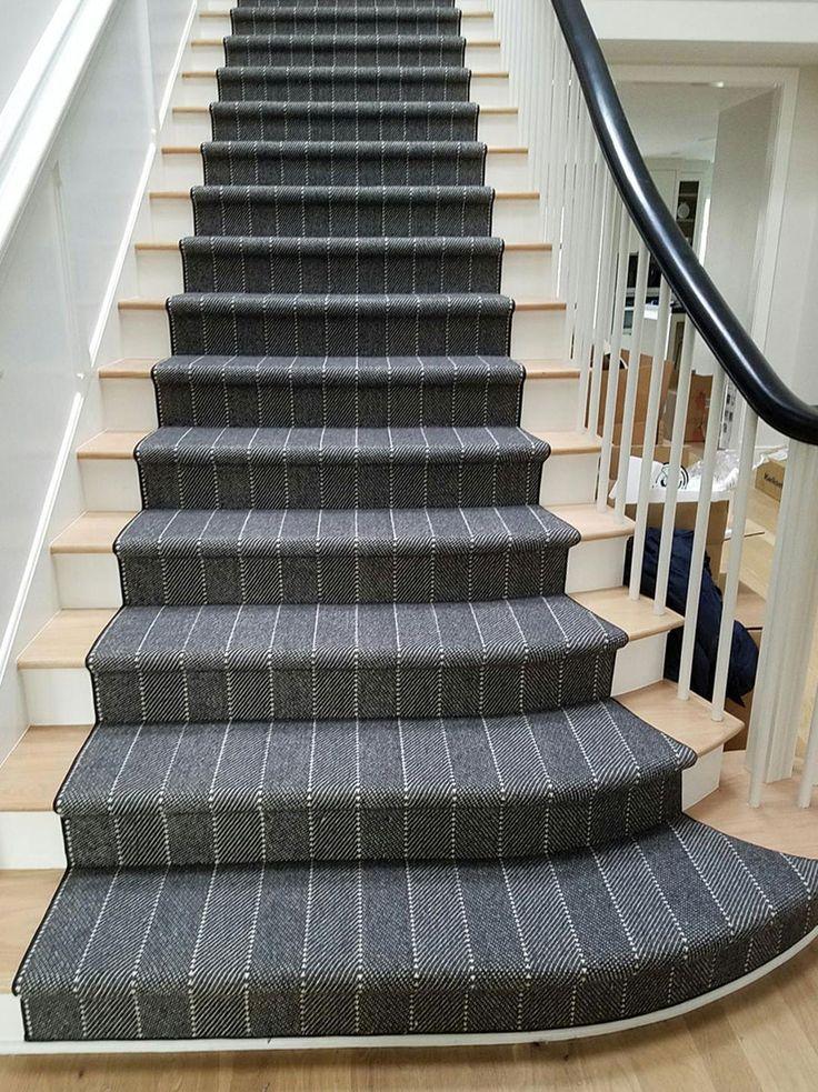 Best Prestige Ravine Charcoal Stair Runner Stair Runner 640 x 480
