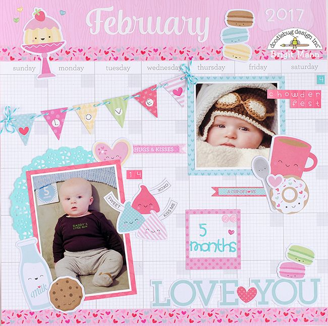 Calendar Design Baby : Best scrap layouts images on pinterest