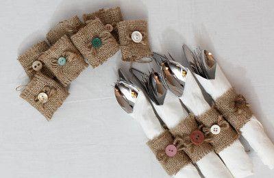 decoraciones para bodas con tela de yute o arpillera indigo bodas y eventos