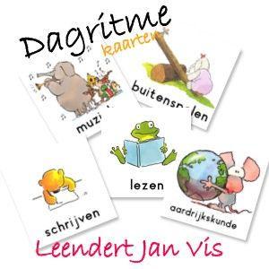 Dagritme kaarten om je kind te ondersteunen in de dagelijkse dingen of op school