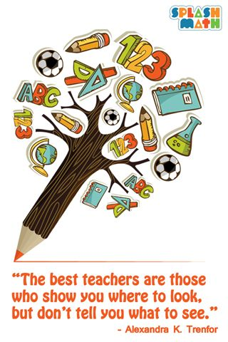 The Best Teachers Are Those Who Show You Where To Look But Don