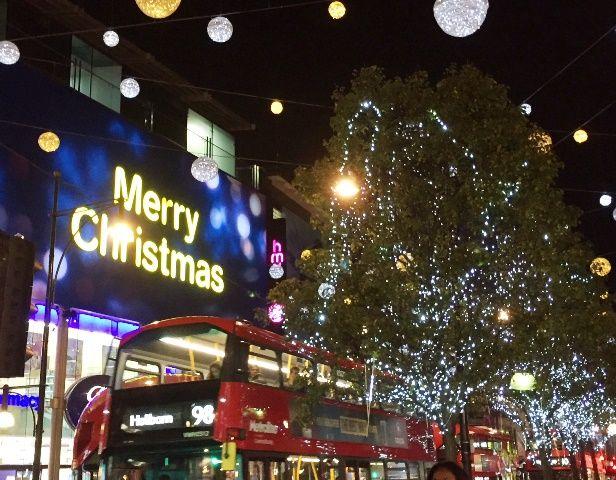 #ロンドン #クリスマス #イルミネーション #2階建てバス #オックスフォード #ストリート #ショッピング #みゅうロンドン #christmas #london #londonlife #myulondon