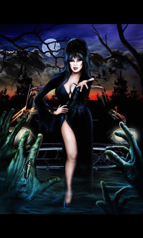 17 Best Images About Elvira The Queen Of Halloween On