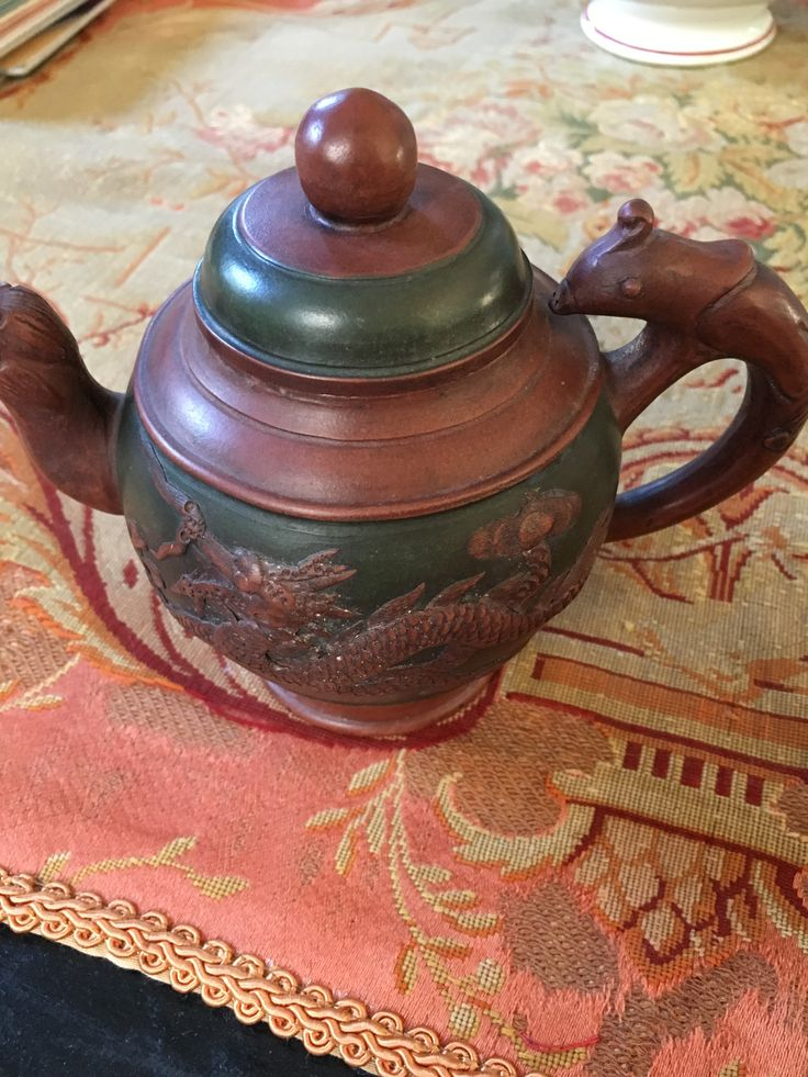 Chinese teapot.