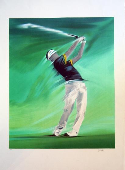 Modern golf art